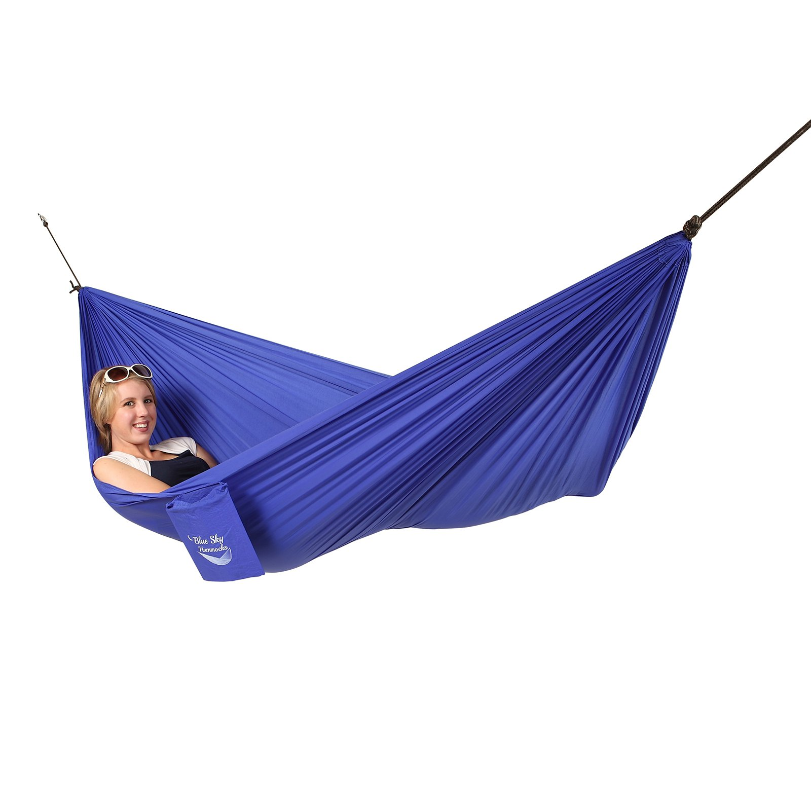 Blue Sky Outdoor Single Ultralight Single Hammock with Straps