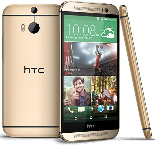 NEW HTC One M8 32GB AT;T Smartphone, Gold