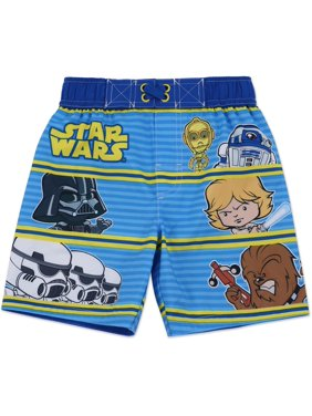 Star Wars Toddler Boys Graphic Swim Shorts