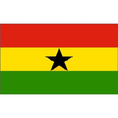 2x3 Ghana Flag West African Country Banner Republic Pennant 24x36 inches - Ghana Flag Colors