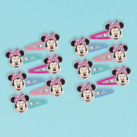 Minnie Mouse Helpers Hair Clips - Minnie Mouse Hair Clips