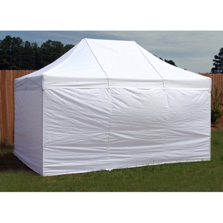 King Canopy Universal Instant 10x15 Side Walls - 4 Pack, White