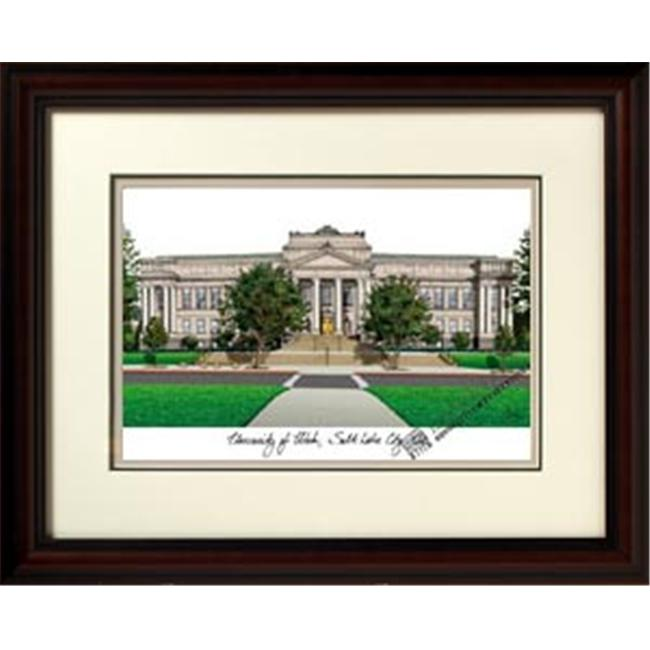 Campus Images UT995R University of Utah Alma Mater Framed Lithograph