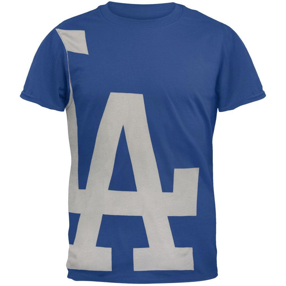 Los Angeles Dodgers - Overgrown Logo Soft T-Shirt
