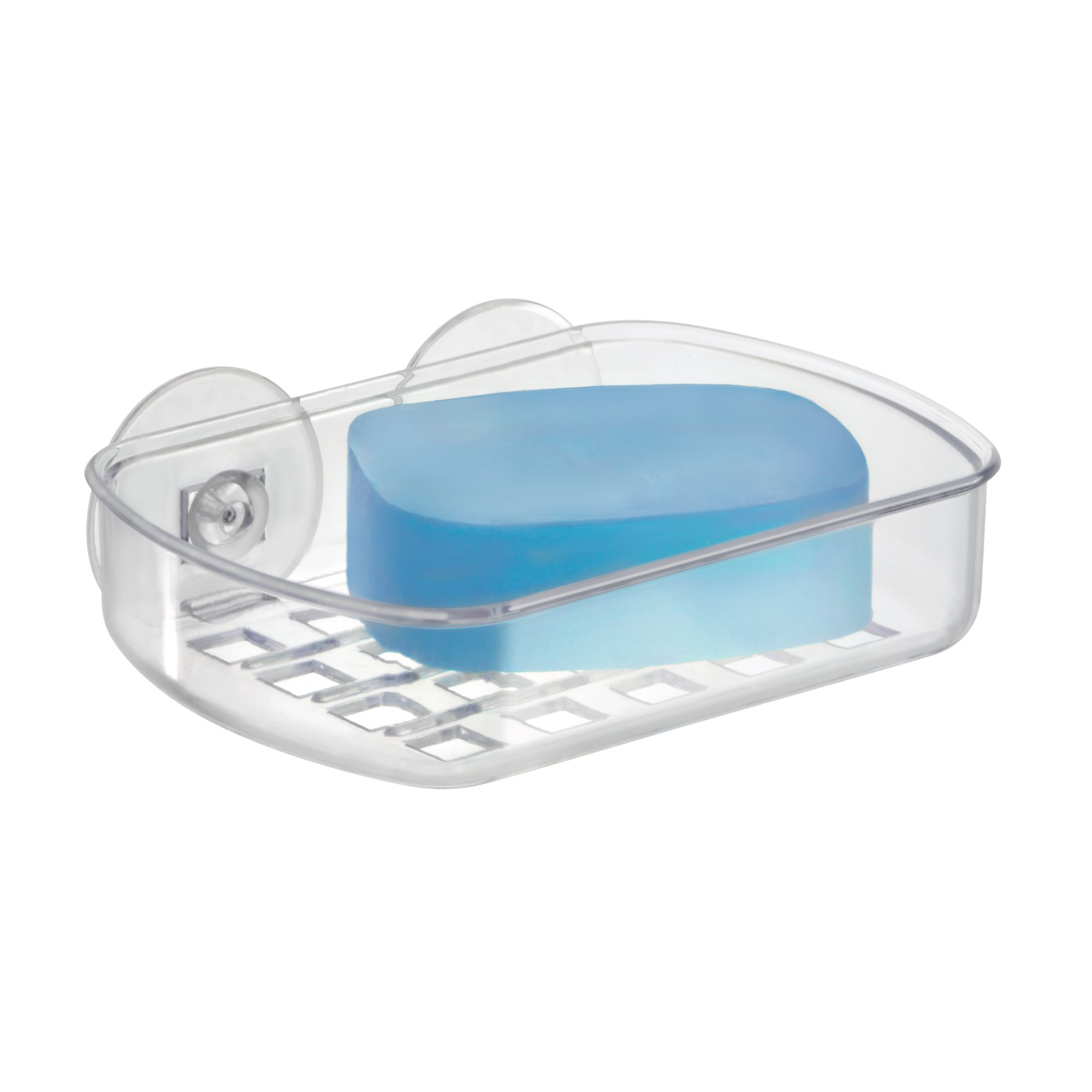 Mainstays Suction Soap Dish, Clear - Walmart.com