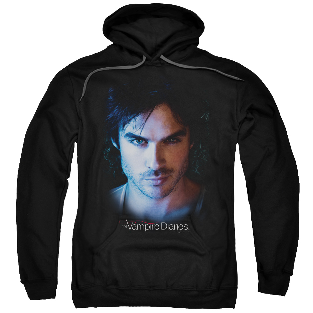 The Vampire Diaries Damon Mens Pullover Hoodie