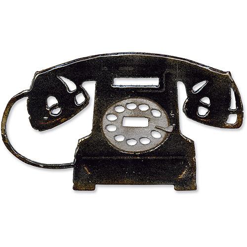 Sizzix Bigz Die by Tim Holtz Alterations, Vintage Telephone