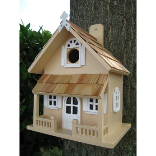 Home Bazaar Victorian Cottage Bird House
