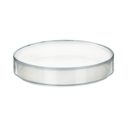 100 x 11mm Plastic Petri Dish - Polypropylene - Single Dish Single Compartment Dish