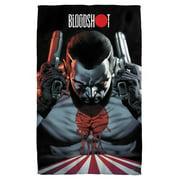 Bloodshot Guns Drawn Bath Towel White 27X52