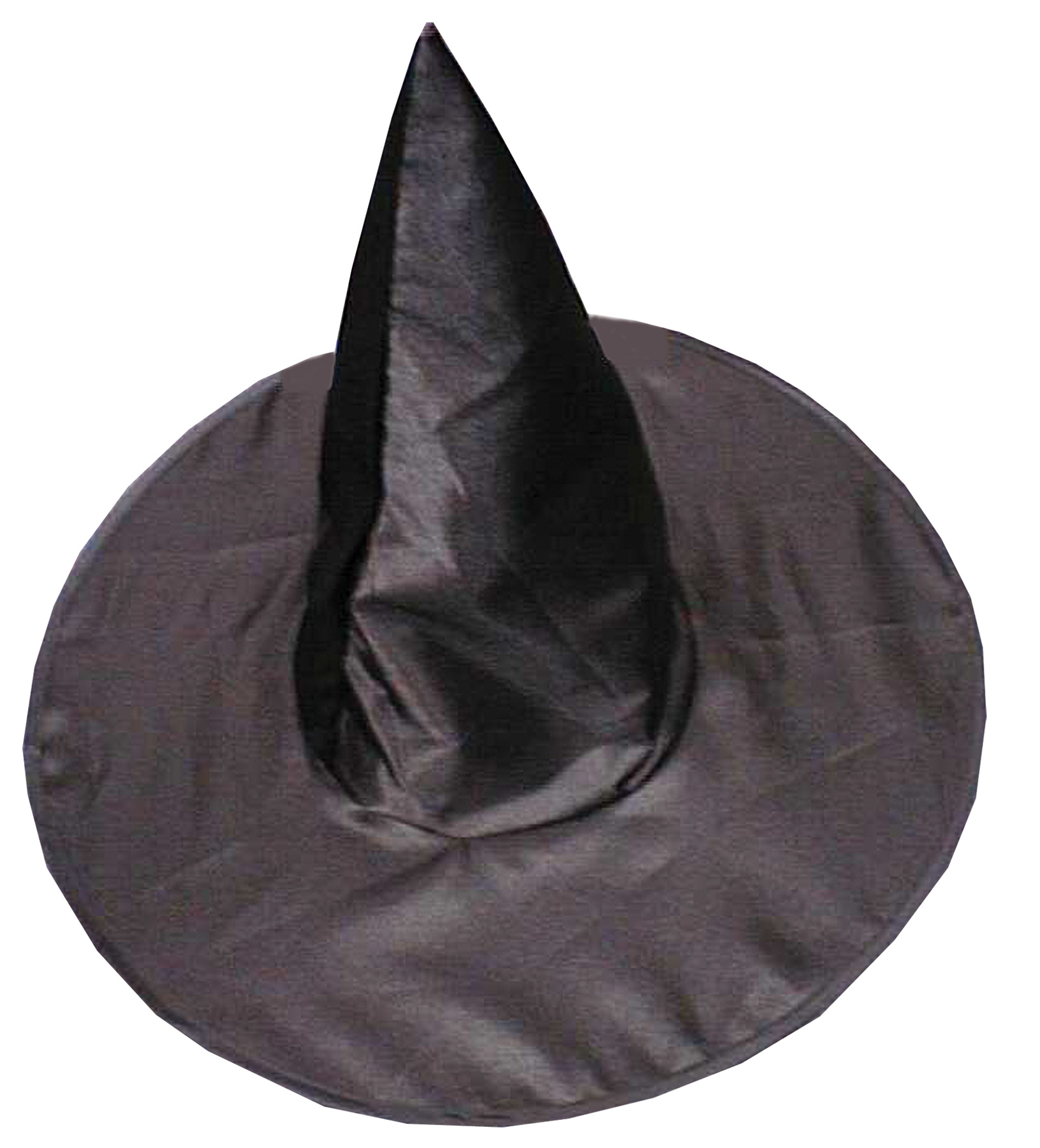 661b56dcaf6 Deluxe Satin Witch Hat Adult Halloween Accessory - Walmart.com