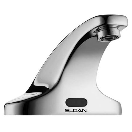 C-spout Centerset (Sloan SF-2300 Sensor Activated, Electronic, 4 inch Centerset Hand Washing)