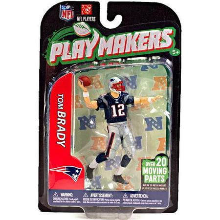 Mcfarlane Nfl Playmakers Series 3 Tom Brady Action Figure