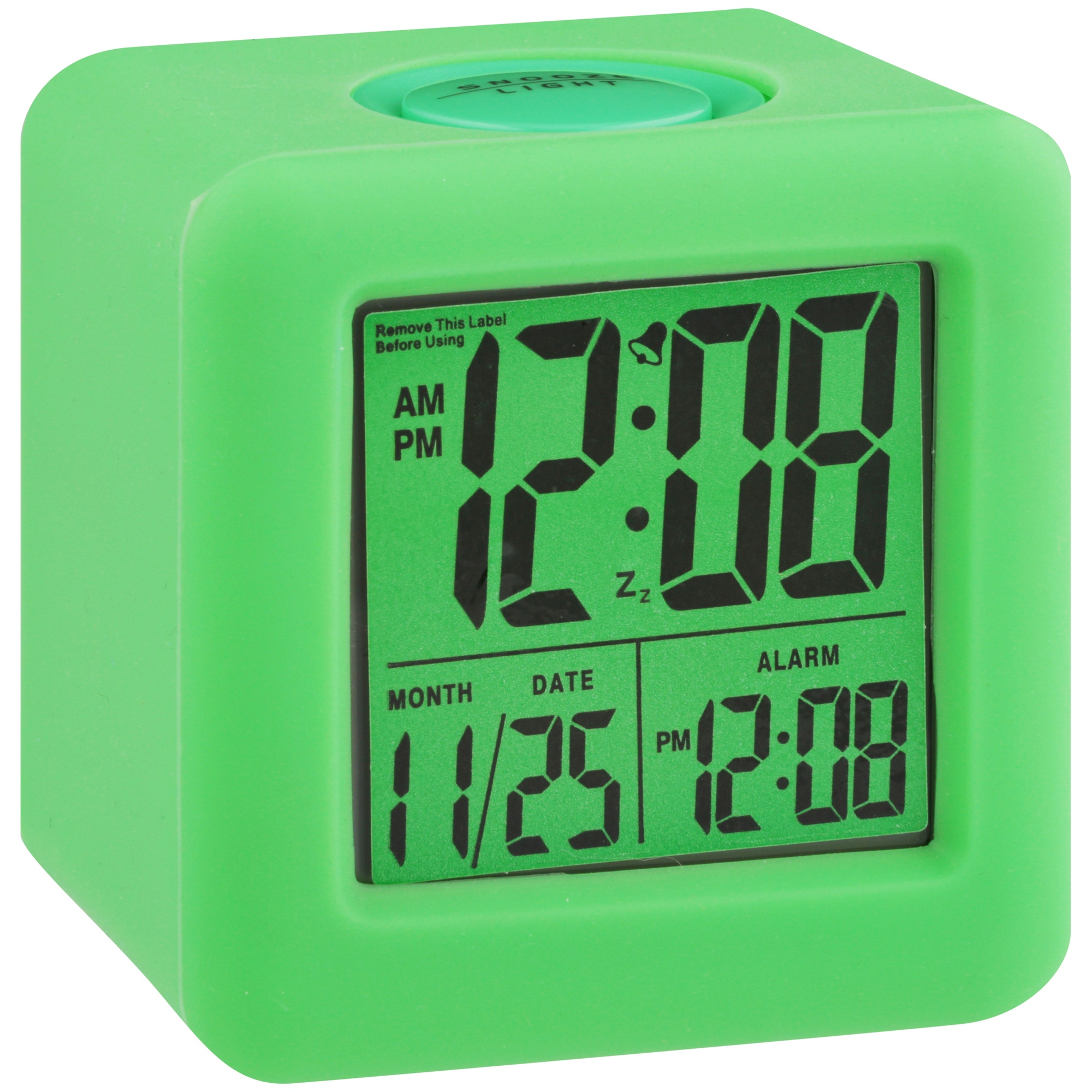 Equity® by La Crosse™ Soft Cube LCD Alarm Clock