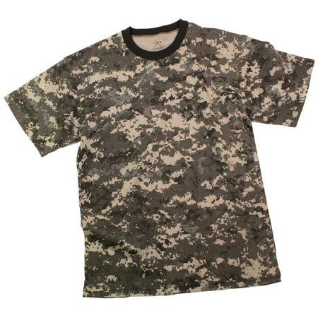 Boys Subdued Urban Digital Camouflage T-Shirt Boys Urban High Top