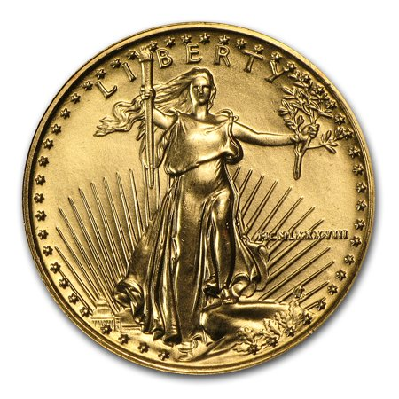 1988 1/4 oz Gold American Eagle BU