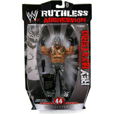 WWE Wrestling Ruthless Aggression Series 44 Rey Mysterio Action Figure for $<!---->