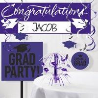 Graduation School Spirit 11-Piece Decoration Kit (Click to Select Color)