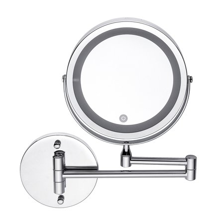 7 6 360 176 Adjustable Touch Led Lighted Mirror Wall