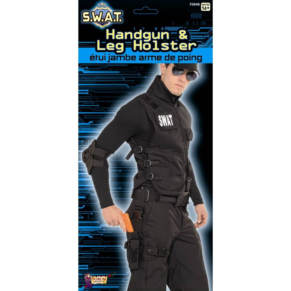 Leg Holster with Leg Strap Set