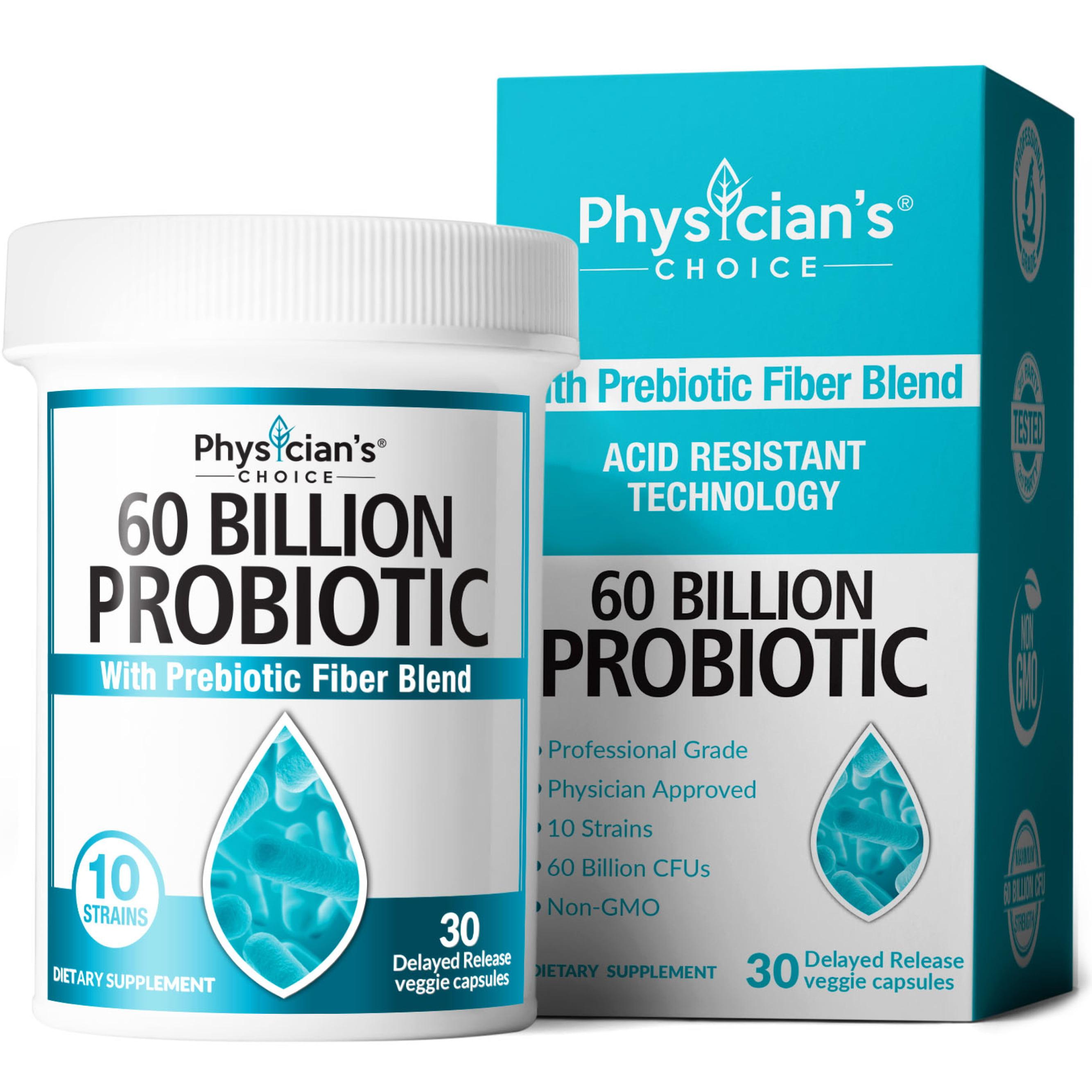 Physician S Choice Probiotics 60 Billion Cfu Capsules 30