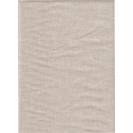 Brussels Washer Yarn Dye Natural Flax Linen Fabric ~ 55% Linen 45% Rayon ~ 52