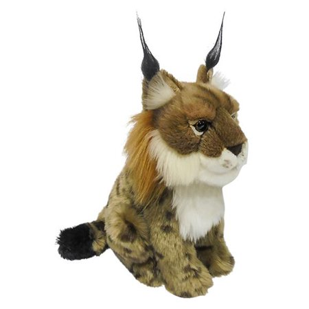 "Wildlife Tree 9"" Stuffed Lynx Bobcat Plush Floppy Animal Kingdom Collection"