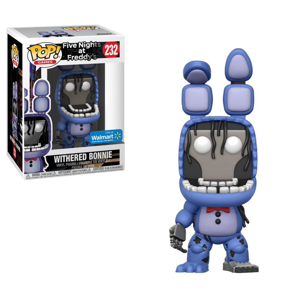 Funko POP! Games: Five Nights at Freddy's - Withered Bonnie Walmart Exclusive