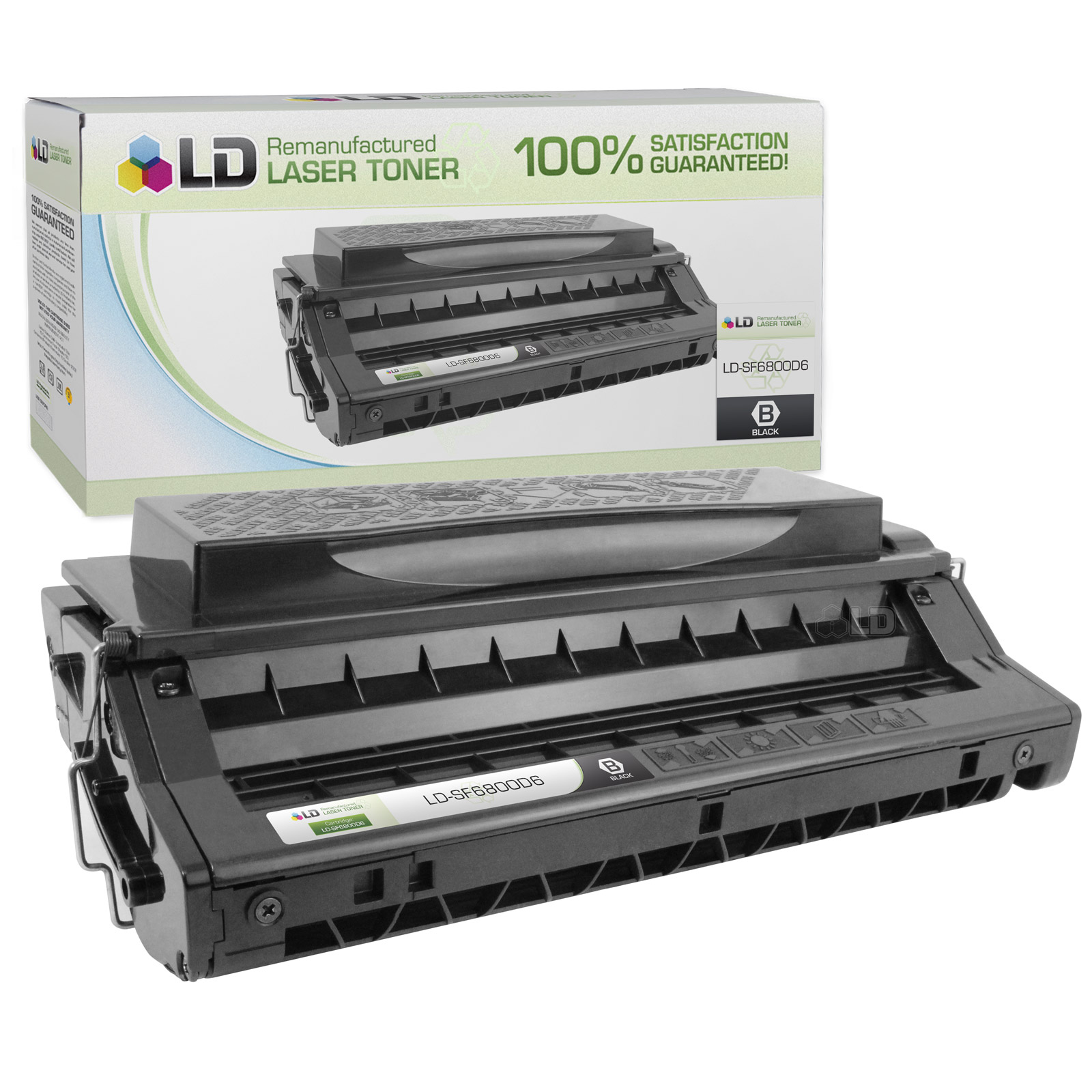 LD© Samsung Remanufactured Replacement SF-6800D6 Black Laser Toner Cartridge for use in Samsung MSYS 730, MSYS