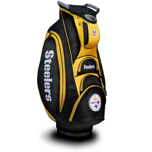 Team Golf NFL Pittsburgh Steelers Victory Golf Cart Bag
