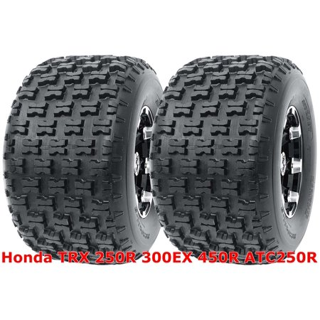 Honda TRX 250R 300EX 450R ATC250R Set 2 Rear 20x10-9 20x10x9 Sport ATV (Best Tires For 2008 Honda Fit Sport)