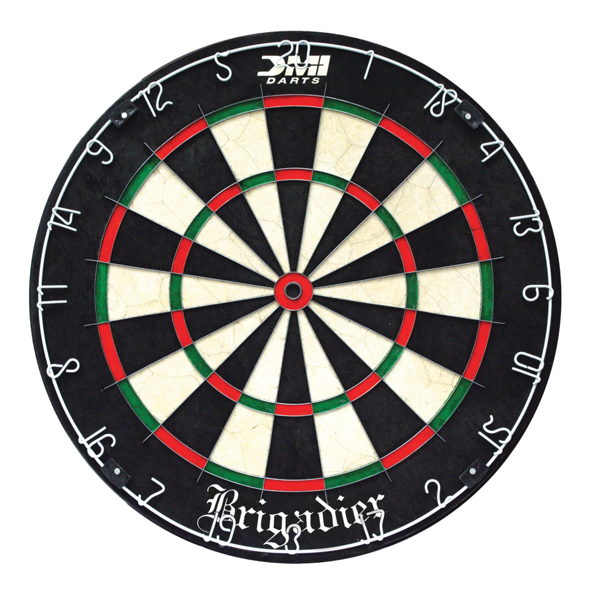 DMI Brigadier Staple-Free Bristle Dartboard