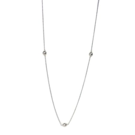 1c92f65aa PANDORA - Luminous Dainty Droplets Necklace, Crystal Pearl 590539WCP-80 cm  31.5 in - Walmart.com