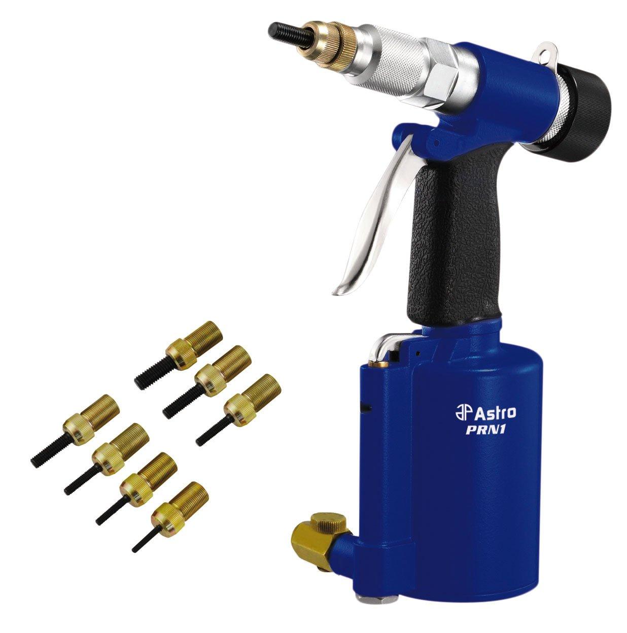 Astro Pneumatic Tool PRN1 3/8-Inch Capacity Pneumatic Rivet Nut Setting Kit - Metric & SAE