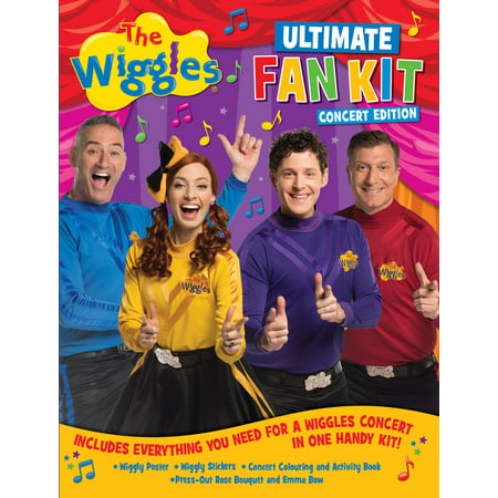 The Wiggles Ultimate Fan Kit Concert Edition