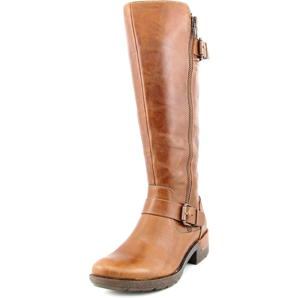 Sofft Adama Women Round Toe Leather Knee High Boot by Sofft