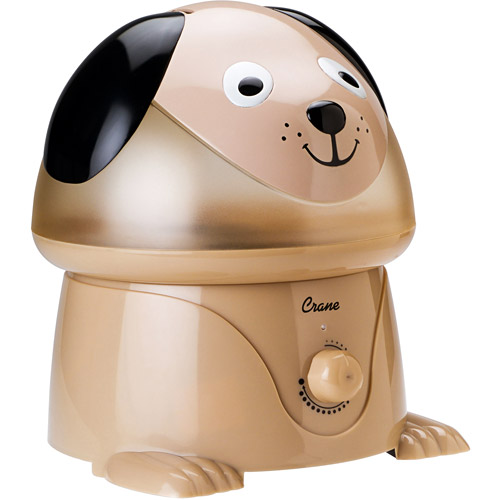 Crane Ultrasonic Cool Mist One Gallon Humidifier, Dog