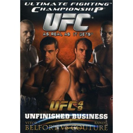 Ultimate Fighting Championship, Vol. 49: Unfinished