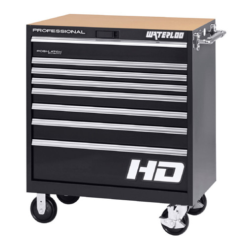 Waterloo Industries Professional HD Series 36'' Wide 8 Drawer Bottom Cabinet