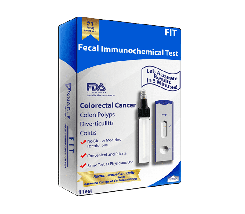 Second Generation Fita At Home Colon Cancer Test 1 Pack Walmart Com Walmart Com