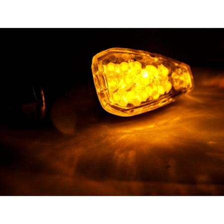 Kapsco Moto Mini Custom LED Turn Signal Indicator Lights Lamp For Suzuki DR RMZ RM 100 125 200 250 350 651 - image 3 of 4