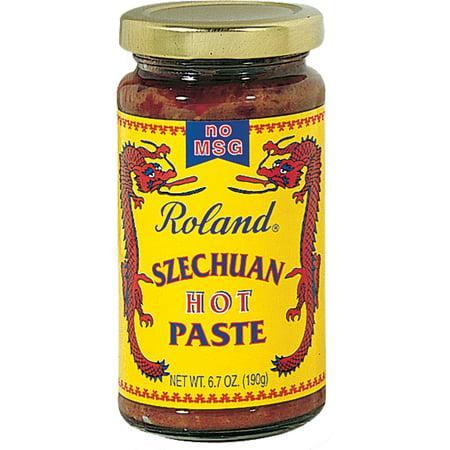 (2 Pack) Roland Hot Szechuan Paste, 6.7 Oz