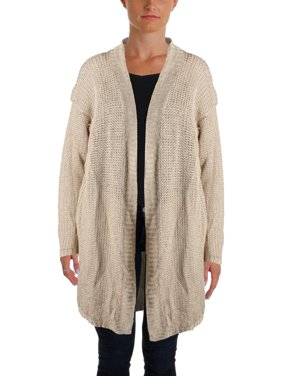 Product Image Lauren Ralph Lauren Womens Petites Knit Ribbed Trim Cardigan  Sweater 9f19ac856
