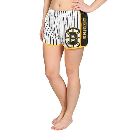 Forever Collectibles NHL Women's Boston Bruins Pinstripe Shorts