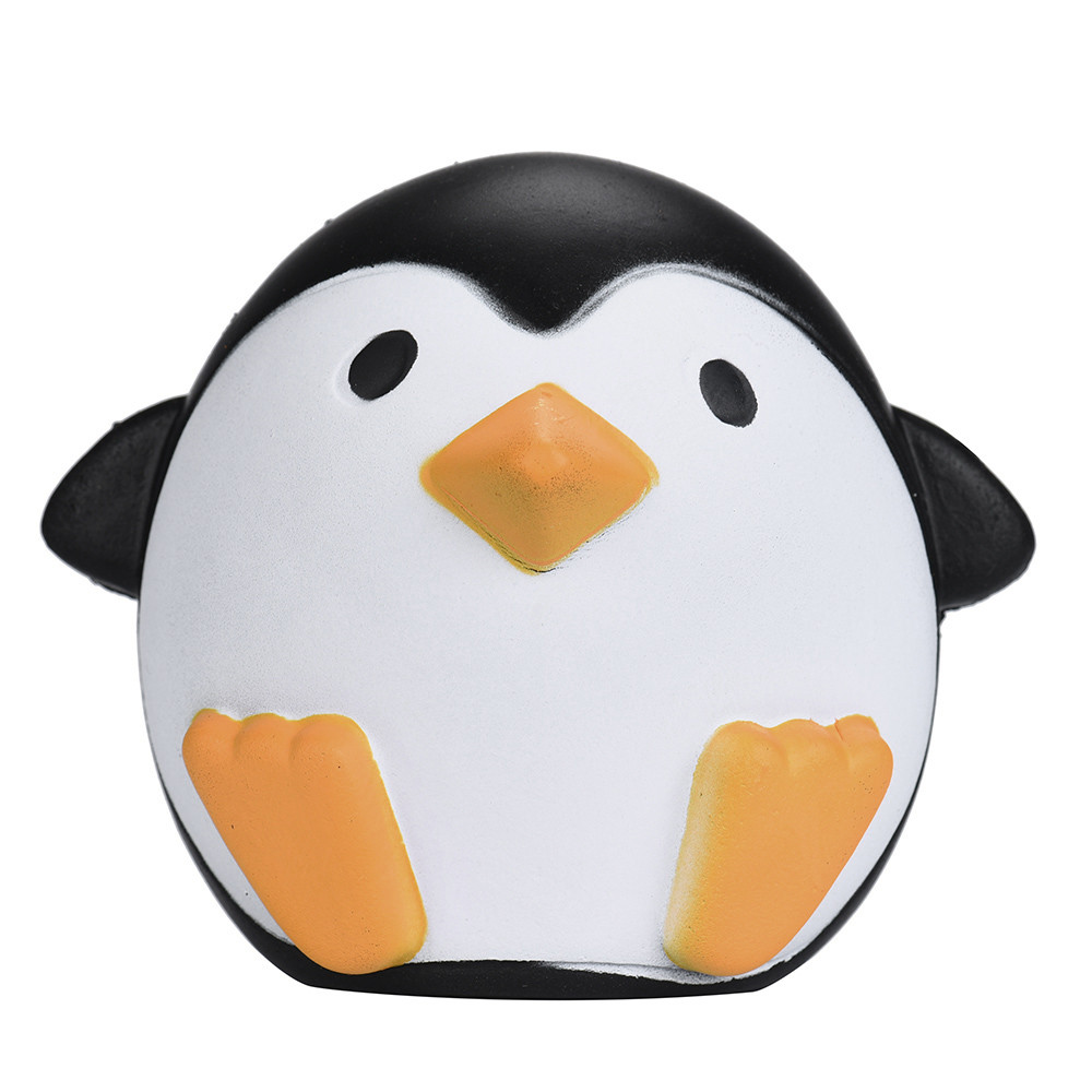DZT1968® Cute Penguins Squishy Slow Rising Cream Scented Decompression Toys