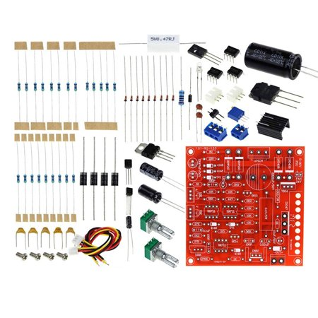 TSV Red 0-30V 2mA-3A Continuously Adjustable DC Regulated Power Supply DIY Kit PCB