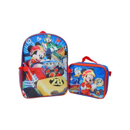 249059cb3bb Disney - Boys Mickey Mouse Roadster Racers Backpack 16