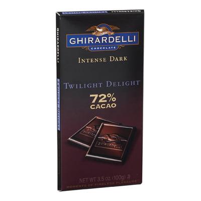 GHIRARDELLI: Intense Dark Twilight Delight 72% Cacao: 12 Count