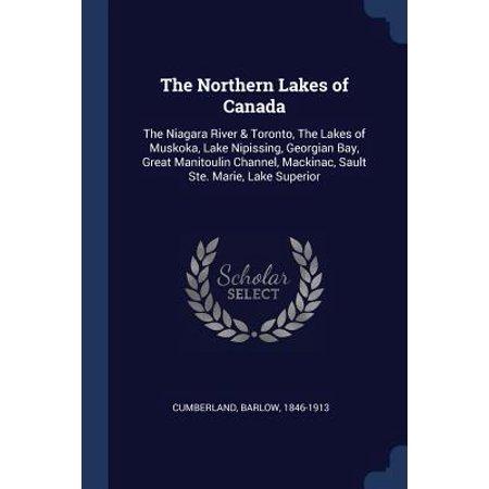 The Northern Lakes of Canada : The Niagara River & Toronto, the Lakes of Muskoka, Lake Nipissing, Georgian Bay, Great Manitoulin Channel, Mackinac, Sault Ste. Marie, Lake Superior