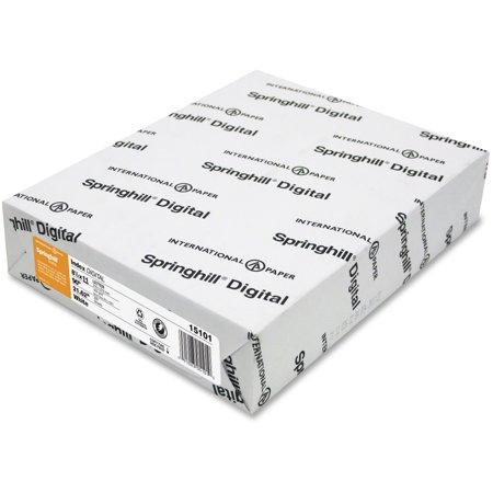 Springhill, SGH015101, Digital Index 90 lb. Multipurpose Paper, 250 / Pack,